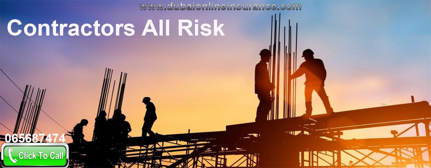 Contractors All Risk Insurance In Dubai
