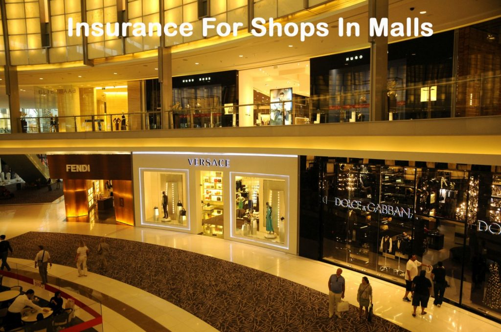 Insurance for Shops in Malls