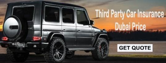 third party car insurance Dubai price